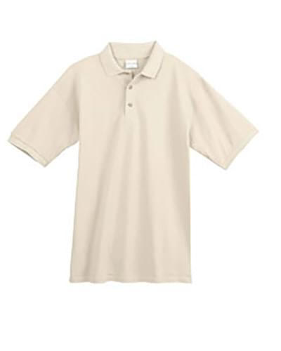 6.5 oz., 100% Organic Ringspun Cotton Piqu? Sport Shirt
