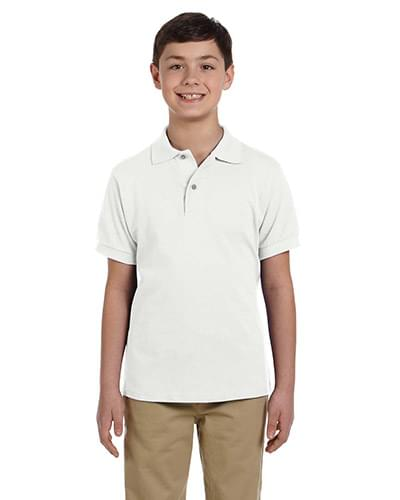 Youth 6.5 oz. Ringspun Cotton Piqu Polo