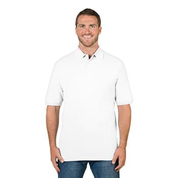 Adult 6.5 oz. Premium 100% Ringspun Cotton Piqu? Polo