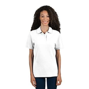 Ladies' 6.5 oz. Premium 100% Ringspun Cotton Piqu? Polo
