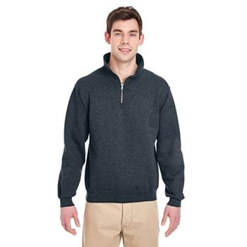 Adult Super Sweats NuBlend Fleece Quarter-Zip Pullover