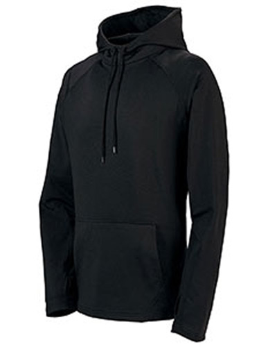 Adult Wicking Brushed Back Poly/Span Hoody