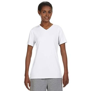 Ladies' Cool DRI with FreshIQ V-Neck Performance T-Shirt