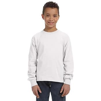 Youth 5 oz. HD Cotton Long-Sleeve T-Shirt
