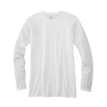 Adult 4.5 oz., 100% Ringspun Cotton nano-T? Long-Sleeve T-Shirt