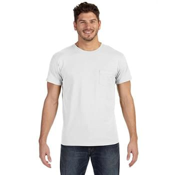 Adult 4.5 oz., 100% Ringspun Cotton nano-T? T-Shirt with Pocket