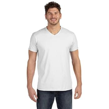 Adult 4.5 oz., 100% Ringspun Cotton nano-T? V-Neck T-Shirt