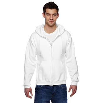 Adult 9.5 oz., Super Sweats NuBlend Fleece Full-Zip Hood
