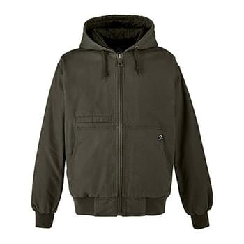 Men's Laramie Canvas Hooded Jacket