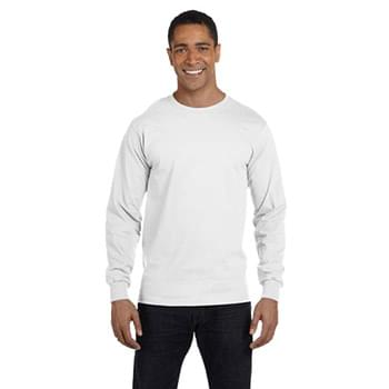 Men's 5.2 oz. ComfortSoft Cotton Long-Sleeve T-Shirt