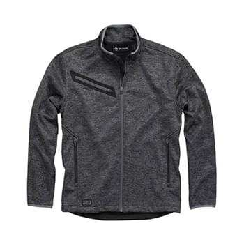 Atlas Bonded M?lange Sweater Fleece Jacket