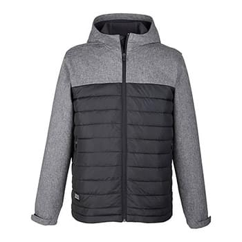 Men's Pinnacle Puffer Body Softshell Hooded Jacket