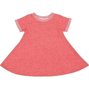 Toddler Girl's Harborside Melange French Terry Twirl Dress