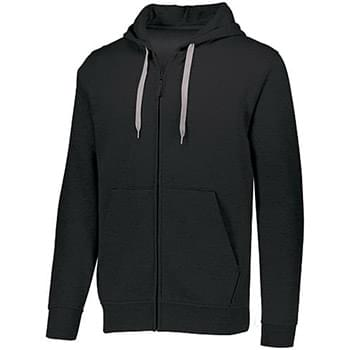 Adult 60/40 Fleece Full-Zip Hooded Sweatshirt
