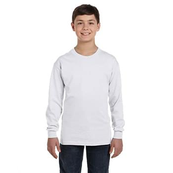 Youth 6.1 oz. Tagless Long-Sleeve T-Shirt
