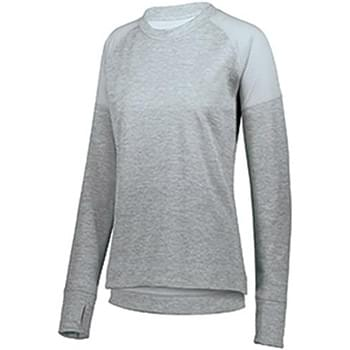 Ladies' Zoe Tonal Heather Pullover
