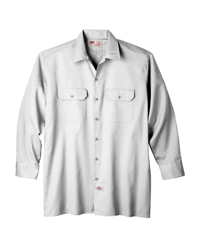 Unisex Long-Sleeve Work Shirt