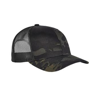 Classics Adult 5-Panel Multicam Trucker Cap
