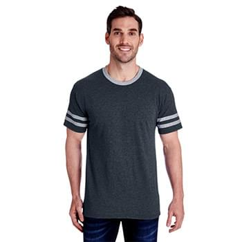 Adult 4.5 oz. TRI-BLEND Varsity Ringer T-Shirt