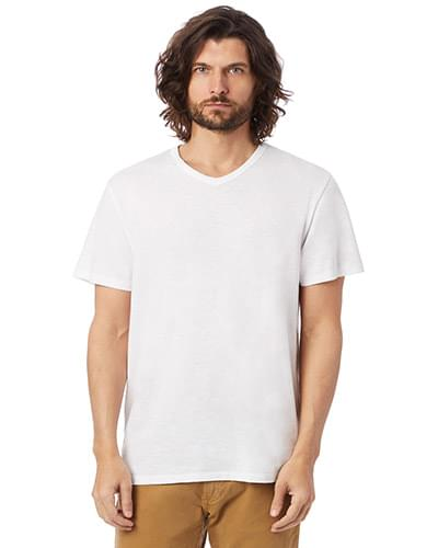 Adult Weathered Slub V-Neck T-Shirt