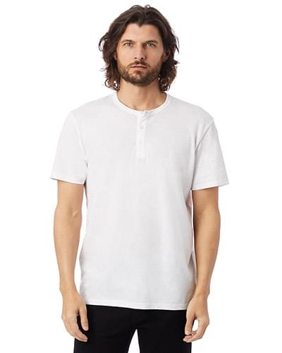 Adult Weathered Slub Henley T-Shirt