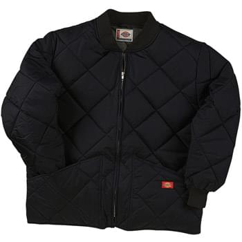 Unisex Diamond Quilted Nylon Jacket