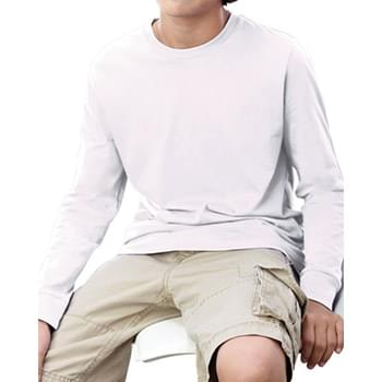 Youth Fine Jersey Long-Sleeve T-Shirt