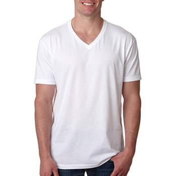 Men's CVC V-Neck T-Shirt