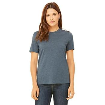 Ladies' Relaxed Heather CVC Short-Sleeve T-Shirt