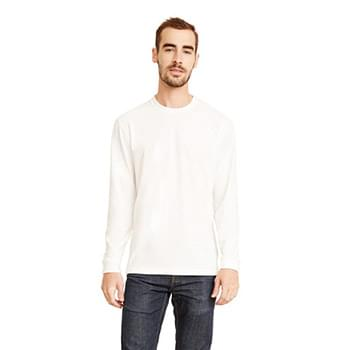 Unisex Sueded Long-Sleeve Crew