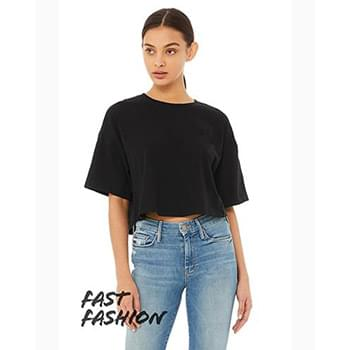FWD Fashion Ladies' Jersey Cropped T-Shirt