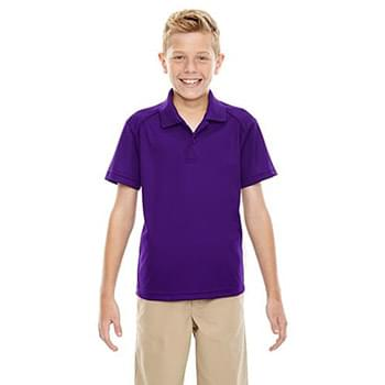Youth Eperformance? Shield Snag Protection Short-Sleeve Polo