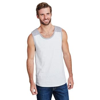 Men's Contrast Back Tank