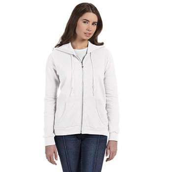 Ladies' Full-Zip Hooded Fleece