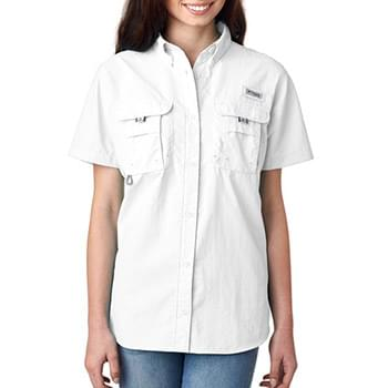 Columbia Ladies' Bahama Short-Sleeve Shirt
