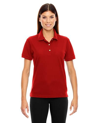 Ladies' Piqu Short-Sleeve Polo with Teflon