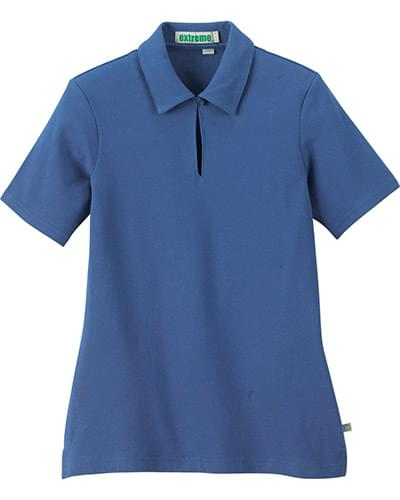 Ladies' Organic Cotton Pique Polo