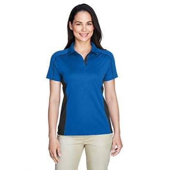 Ladies' Eperformance Fuse Snag Protection Plus Colorblock Polo