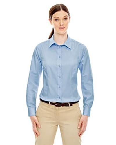 Ladies' Yarn-Dyed Wrinkle-Resistant Dobby Shirt