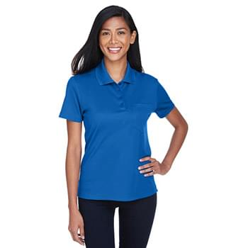 Ladies' Origin Performance Piqu Polo with Pocket