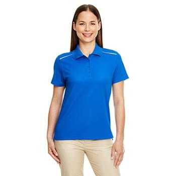 Ladies' Radiant Performance Piqu? Polo with Reflective Piping
