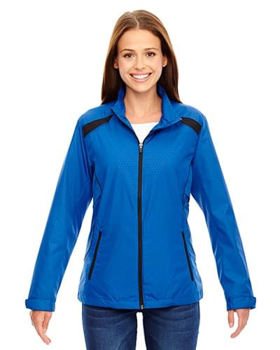 Ladies' Tempo Lightweight Recycled Polyester Jacket with Embossed Print