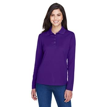 Ladies' Pinnacle Performance Long-Sleeve Piqu Polo