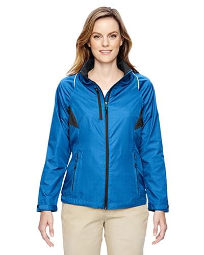 Ladies' Sustain Lightweight Recycled Polyester Dobby Jacket withPrint
