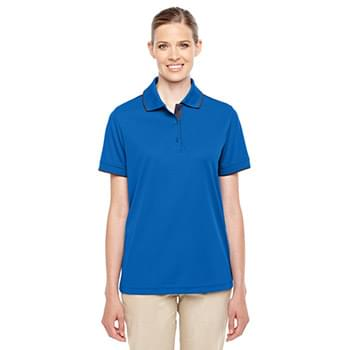 Ladies' Motive Performance Piqu? Polo with Tipped Collar