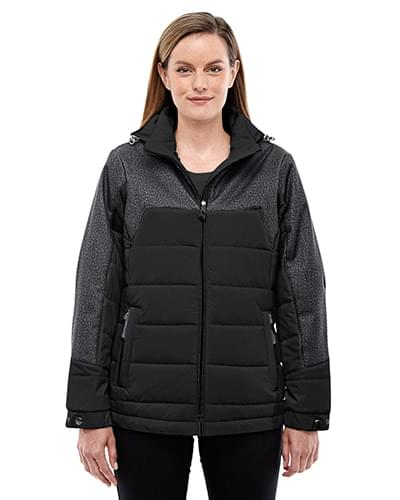 Ladies' Excursion Meridian Insulated Jacket with Mlange Print