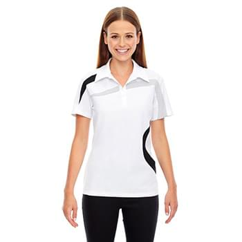 Ladies' Impact Performance Polyester Piqu? Colorblock Polo