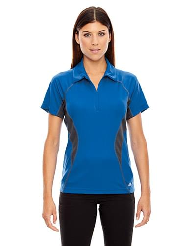 Ladies' Serac UTK cool?logik? Performance Zippered Polo