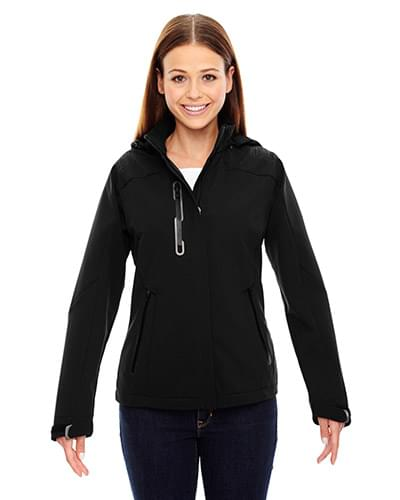 Ladies' Axis Soft Shell Jacket with Print Graphic Accents