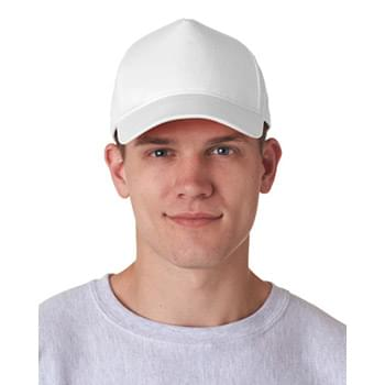 Adult Classic Cut Cotton Twill 5-Panel Cap